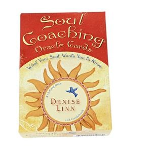 Soul Coaching Oracle Cards by Denise Linn NWOT